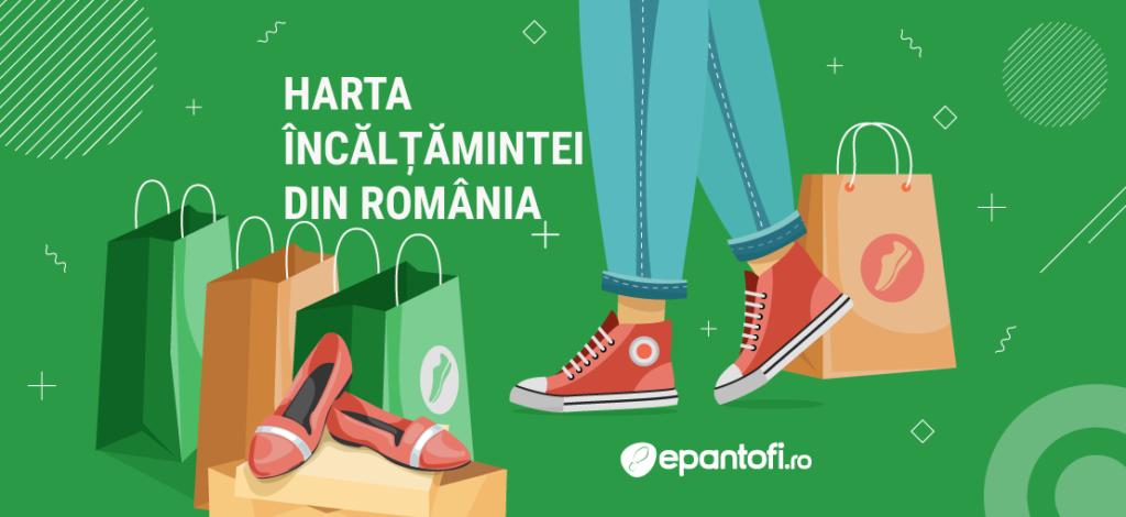 Harta încălțămintei din România