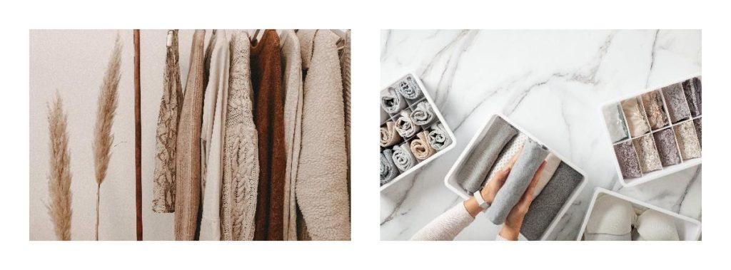 sortare haine, organizare haine, organizare dulap, organizare garderobă