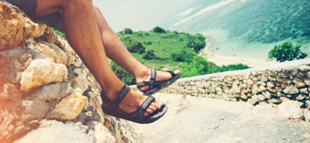 sandale bărbați