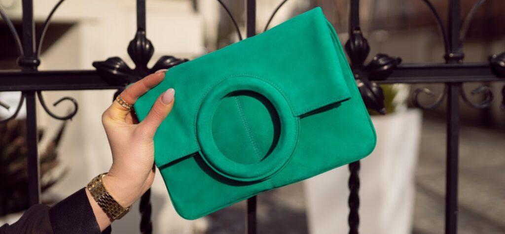 geantă verde