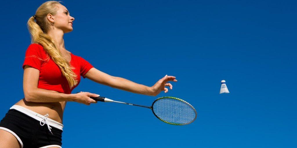 badminton va ajuta să slăbească în jos